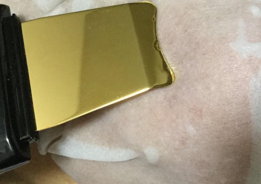 純金ウォーターピーリング複合美顔器Rocklean Premium ロックリーン プレミアム
