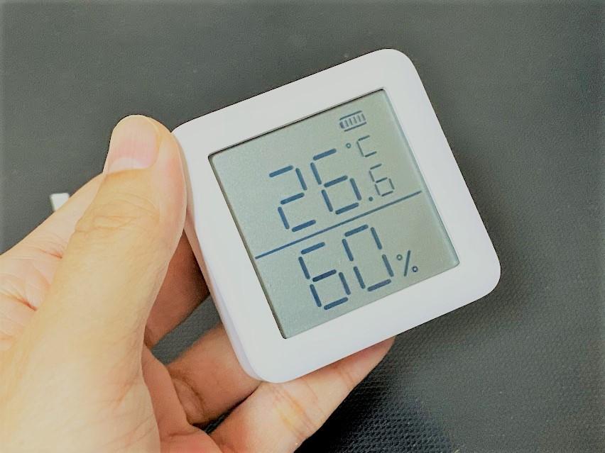 SwitchBotデジタル温湿度計を使ったレビュー